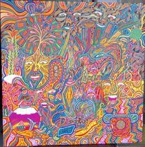 Farben, Melodie, Fernsehturm, Augen