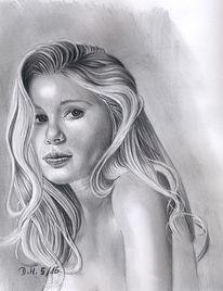 Portrait, Zeichnung, Grafit, Zeichnungen