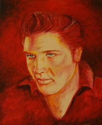 Berühmt, Elvis presley, Sänger, Rock n roll