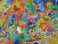 Improvisation, Malerei, Abstrakt