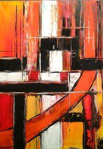 Dekoration, Acrylmalerei, Farben, Modern