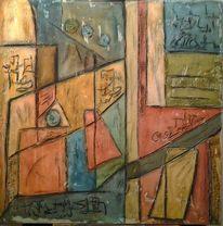 Abstrakt, Dekoration, Modern, Strukturieren