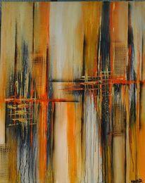 Fantasie, Abstrakt, Strukturieren, Malerei