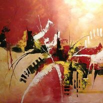 Stille, Leben, Abstrakt, Malerei