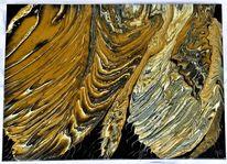 Abstrakt, Acrylmalerei, Mischtechnik