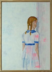 Figurativ, Zeitgenössisch, Portrait, Ölmalerei