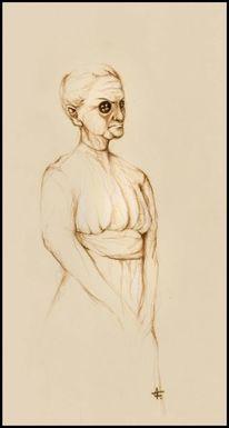 Zeichnung, Schmerz, Menschen, Verzweiflung