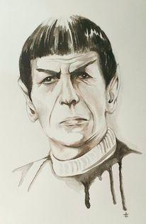Vulkan, Spock, Leonardnimoy, Stern