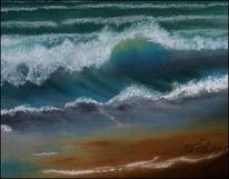Meer, Sand, Gischt, Malerei