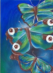 Grün, Acrylmalerei, Wasser, Gemälde