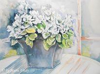 Blumen, Pflanzen, Stillleben, Malerei