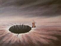 Surreal, Acrylmalerei, Malerei, Fantasie