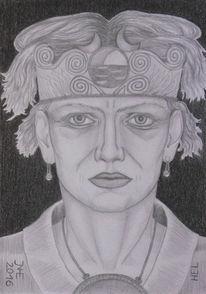 Lumograph, Mythologie, Portrait, Hel