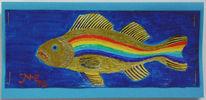 Greenpeaceschiffe, Regenbogen, Ex voto, Regenbogengoldfisch