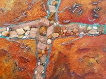 Struktur, Natur, Stein, Spachtel