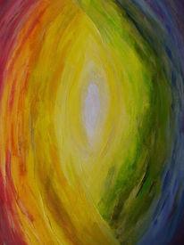 Regenbogen, Farben, Struktur, Malerei