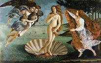 Puppe, Malerei, Botticelli, Venus