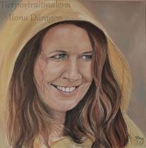 Portrait, Kaputze, Regen, Friesennerz