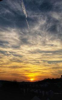Schnappschuss, Abend, Himmel, Fotografie