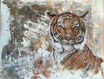 acrylmalerei tiger 63 bilder und ideen gemalt auf kunstnet. Black Bedroom Furniture Sets. Home Design Ideas
