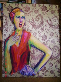 Ölmalerei, Oper, Expressionismus, Malerei