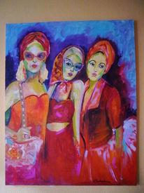 Ölmalerei, Malerei, Grazien