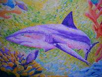 Ölmalerei, Tauchen, Neo, Impressionismus
