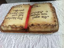 Torte in buchform, Kunsthandwerk
