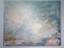 Informel, Komposition, Acrylmalerei, Malerei