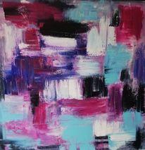 Informel, Acrylmalerei, Komposition, Malerei