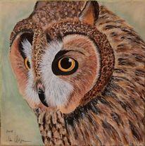 Tiere, Acrylmalerei, Braun, Malerei