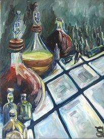 Flasche, Altersvorsorge, Wein, Weinballons