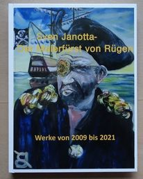 Janotta, Malerfürst, Buch, Pinnwand