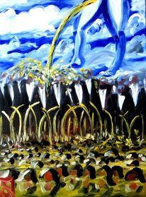 Hierarchie, Gesellschaft, Politik, Malerei