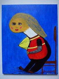 Acrylmalerei, Menschen, Düsseldorf, Malerei