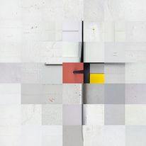 Kreuz, Struktur, Putzfassade, Symbol