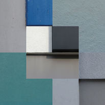 Berlin, Collage, Quadrat, Putz