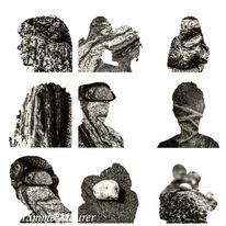 Stein, Fotografie, Konzept, Rauer stein