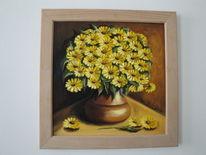 Vase, Stillleben, Blumen, Strauß