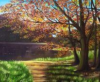 Herbst, Malerei