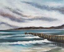 Meer, Buhne, Malerei