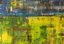 Haarstrang, Gelb, Modern, Landschaft