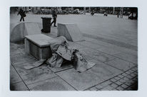 Fotografie, Flüchtling, Materialität, Abdecken