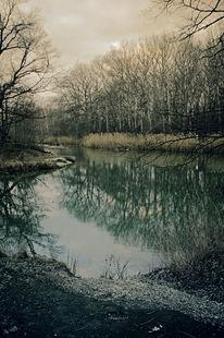Dunkel, See, Heimat, Surreal