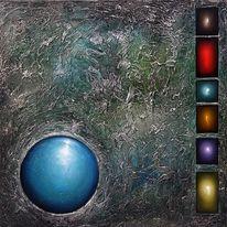 Gemälde, Malerei, Acrylmalerei, Abstrakt