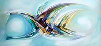 Abstrakt, Malerei, Fantasie, Modern