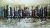 Malerei, Skyline