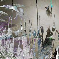 Zeitgenössisch, Fotografie, Acrylmalerei, Abstrakt