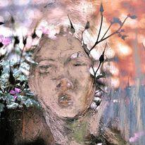 Fotografie, Acrylmalerei, Abstrakt, Zeitgenössisch