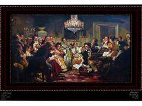Geschichte luxus musik, Adel, Geschichte, Malerei